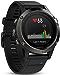 Garmin fēnix 5, Premium and Rugged Multisport GPS Smartwatch, Slate Gray/Black Band, 47 MM
