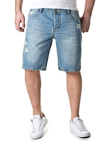 Sky Rebel Herren Shorts & Bermudas Haka Bermuda Jeans, 19200 Light Blue, W30, 19200 Light Blue, W30