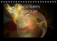 Bernd Rahm Digital Art (Tischkalender 2022 DIN A5 quer): Galerie von abstrakten Grafiken (Monatskalender, 14 Seiten )