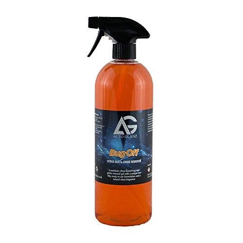 Autoglanz Bug Off Citrus Bug & Grime Removal Gel Wax & LSP Safe 1Ltr
