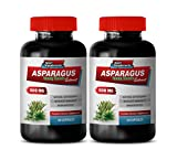 Diuretic Weight Loss - Asparagus 600 MG - Young Shoots Extract - Premium Dietary Supplement - antioxidant Pills - 2 Bottles 120 Capsules