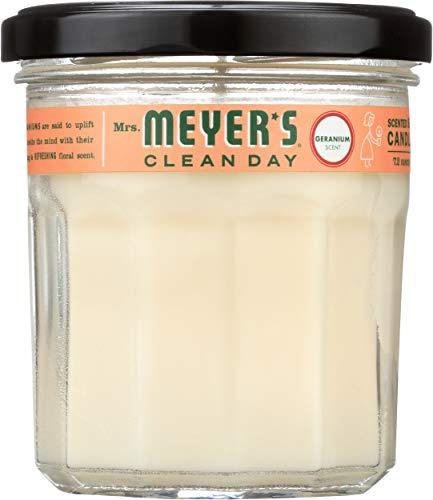 MRS MEYER'S Soy Candle Geranium, 1 EA