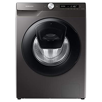 Samsung WW90T554DAN/S1 Freestanding Washing Machine with Addwash™ and ecobubble™, 9kg Load, 1400rpm Spin, Graphite