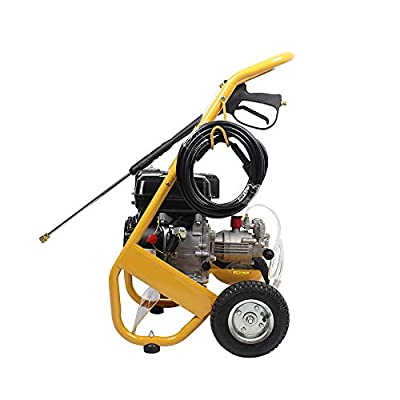 QWERTOUY 3000psi 7.0HP petrol powered jet pressure washer by Qwertouy