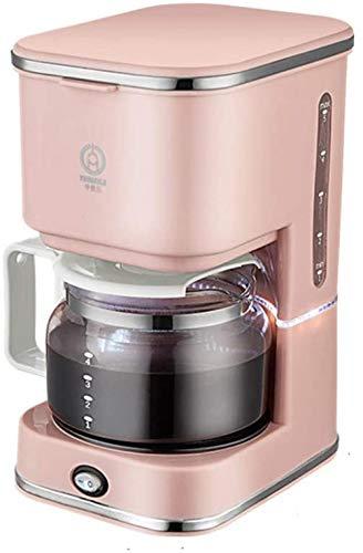 Koffiemachine Draagbaar Mini Koffiesysteem Permanent Herbruikbaar Filter Roze voor Huishoudens