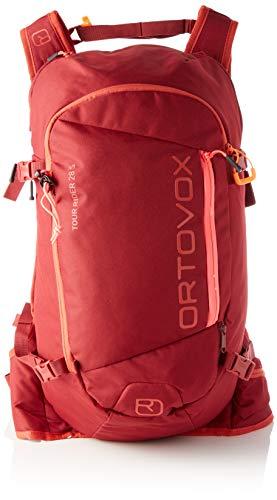 ORTOVOX Womens Tour Rider 28 S Backpack, Dark Blood, 28 Liter