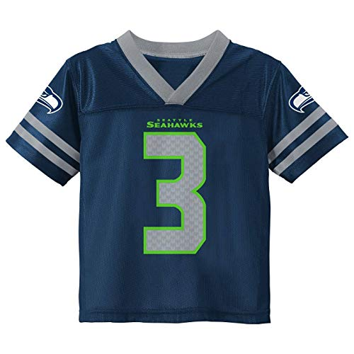 Russell Wilson Seattle Seahawks #3 Youth 8-20 Home Alternate Player Jersey (Russell Wilson Seattle Seahawks Home Navy, 10-12)