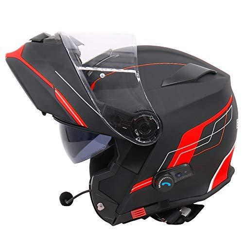 Casco de moto modular FLIP con bluetooth