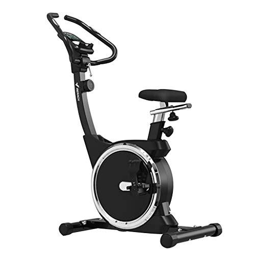 Bicicleta De Spinning Casera Bicicleta Estática Silenciosa Pérdida De Peso De La Bicicleta Equipo De Interior Ejercicio De Gimnasio (Color : Black, Size : 96 * 50 * 128cm)