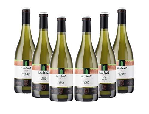 Vins&Co Barcelona Vino Petit Bernat Blanc 2019 – D.O. Pla De Bages – Pack 6 Botellas – Bodega Heretat Oller Del Mas – Selección Vins&Co - 750 ml