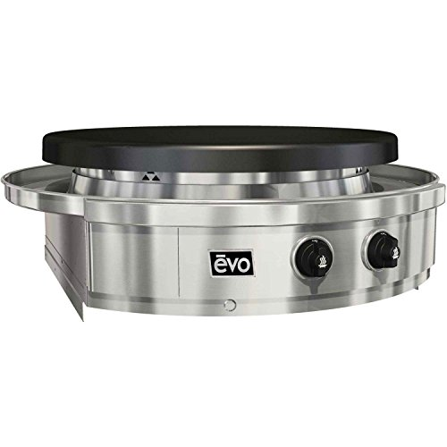 EVO Affinity Built-in Grill Seasoned Steel Cooktop, Natural Gas