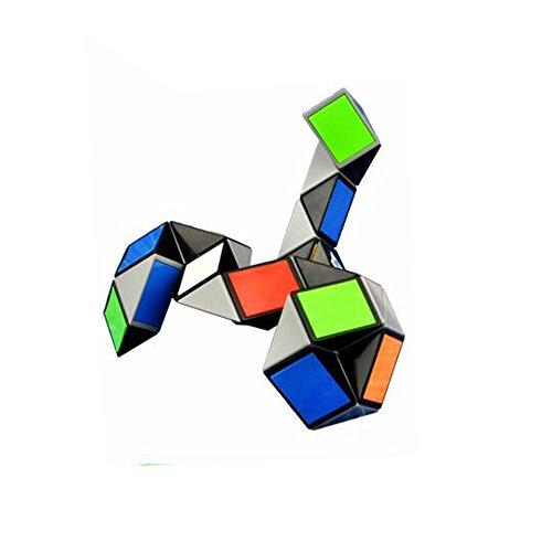 36 Piezas Cubo de Velocidad de Cubo de Serpiente Mágico ABS Floding Plastic ABS Cube