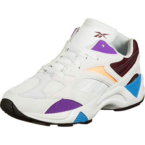 Reebok Aztrek 96, Running Shoe Womens, Blanco/Porcelana/Marrón, 37 EU