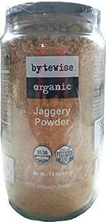 Bytewise Organic Palm Sugar / Jaggery Powder, 1.5 Lb