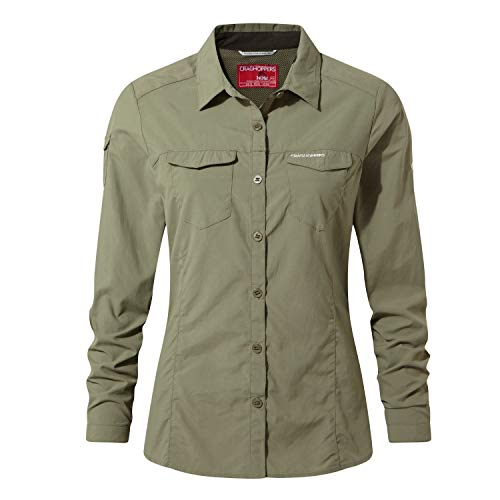 Craghoppers NosiLife Adventure II Langarm Shirt Women - Reisebluse