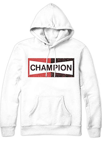 HYPSHRT Herren Hoodie Once a Time in Hollywood Pitt Champion C1000003 Weiß S