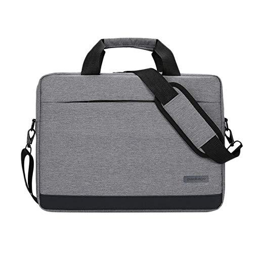 SODIAL Sac à Main Laptop 15 Pouces pour, Ordinateurs Portables 15 Pouces et InféRieurs (Gris)