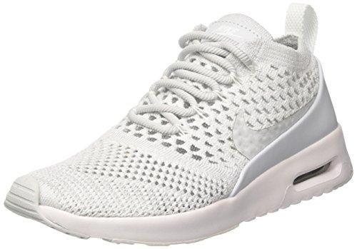 Nike W Air Max Thea Ultra Fk, Scarpe da Ginnastica Donna, Bianco (Pure Platinum/Pure Platinum/White), 38 EU