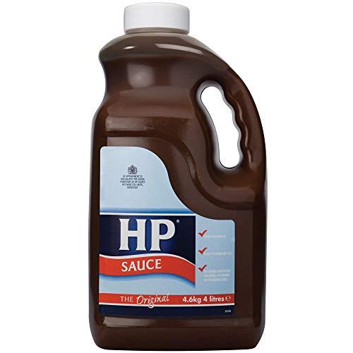 HP Soße HP Brown Soße Griffgläser 2x4ltr