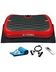 SYOSIN 振動マシン ぶるぶるマシン 振動調節99段階 音楽プレイヤー機能付 有酸素 運動 体幹強化 Miniサイズ 軽い 静音