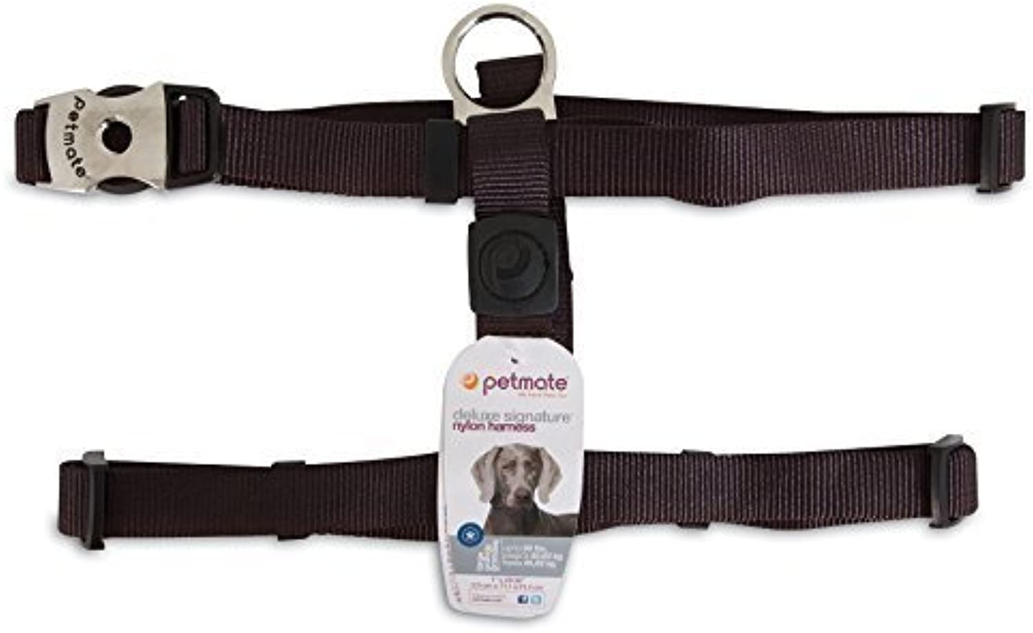 Aspen Pet Products Petmate Deluxe Coal Harness, 1  x 36  by ProMotion Distributing  Direct