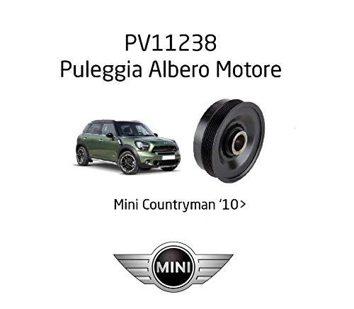 Puleggia Albero Motore Smorzatore Vibrazione 4 Fori Countryman R60 2010 >