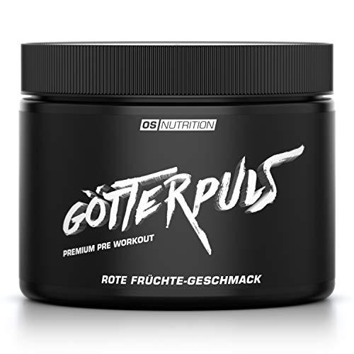 OS NUTRITION Götterpuls Premium Pre Workout Rote Früchte 308g