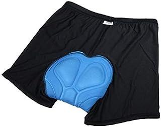 Cycling Underwear Gel 3D Padded Bike Bicycle Pants [H9440 blue, Size: L]