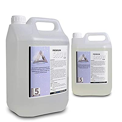 Dynamic Premium Snow / Foam Machine Fluid (2x5L) Liquid Solution Disco Party