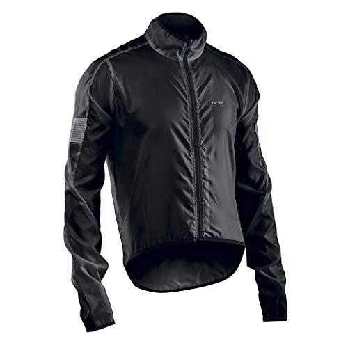 NORTHWAVE Chaqueta ciclismo hombre VORTEX negro