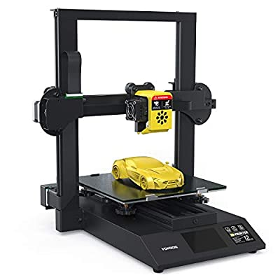 Fokoos 3D Printer Odin-5 F3, Foldable FDM 3D Printers with Double Z-Axis and Integrated Extruder, Carborundum Glass Platform, ?1.75mm, 235x235x250mm