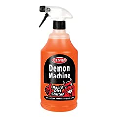 Disolves grease, road grime, bird lime, and tree sap Can be used over vehicle paintwork, glass, plastic and chrome Gives a showroom finish Easy to use Cuts down washing time