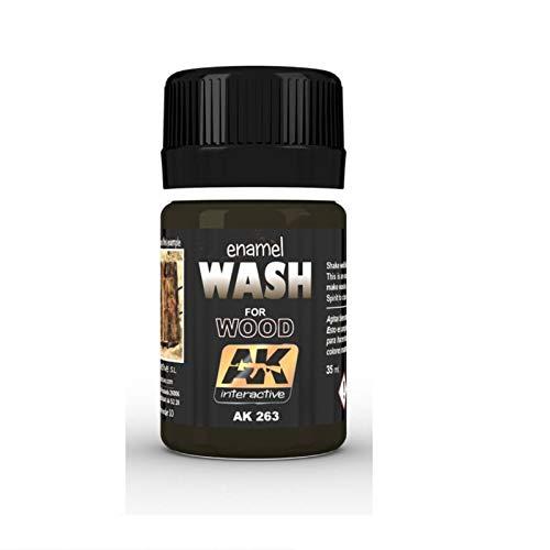 (AK00263) - AK Interactive Wash 35ml - Wash for Wood