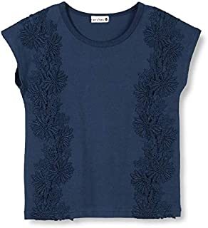 ブランシェス(branshes) 花レース半袖Tシャツ