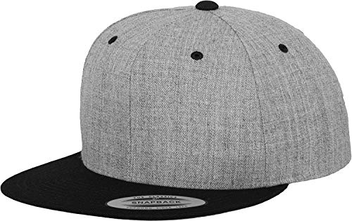 Flex fit - Gorra de béisbol - para hombre, Multicolor (grey/Blk), Talla única