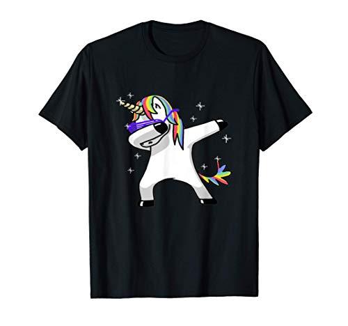 Dabbing Unicorn Dab Sunglasses T-Shirt