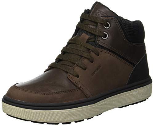 Geox Jungen J Mattias B Boy ABX A Chukka Boots, Braun (Coffee/Black C0196), 36 EU