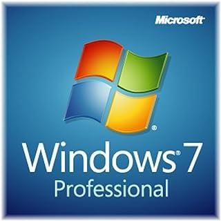 Microsoft Windows 7 Professional, 64 bit, English, 1 Pack,