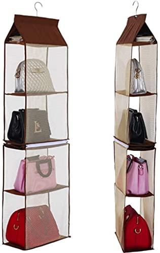 Swadal Aokali Wardrobe Storage Bag 6 Compartments Wardrobe Organizer Space Saving Storage Bedroom Organizer