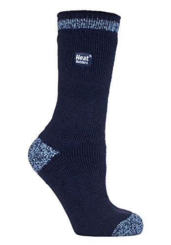 HEAT HOLDERS - Damen Warme Streifen Winter Thermosocken Socken Bunte Muster 37-42 eur (Naseby)