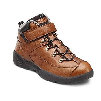 Dr Comfort Ranger Men s Therapeutic Diabetic Extra Depth Hiking Boot  Chestnut 11 X-Wide  3E/4E  Lace