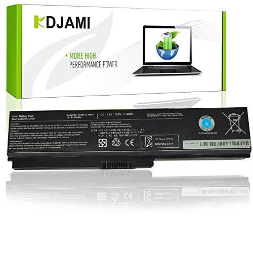 KDJAMI Batería para portátil Toshiba PA3817U-1BRS PA3819U-1BRS Toshiba Satellite C655 L600 L675 L700 L745 L750 L750D L755 L755D M640 M645 P745--garantía de un año