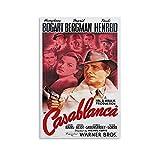 SDFGSD Casablanca Filmposter / Poster, Retro, klassisches