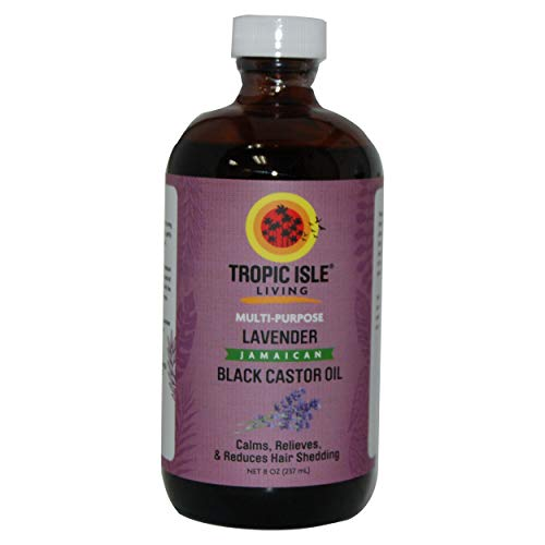 Tropic Isle Living Jamaican Black Castor Oil With Lavender