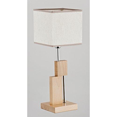 ALFA Qube 1 Lampe de Chevet Lampe à Poser Luminaire Lampe de Table lumière Interieur