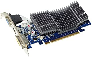 ASUS GeForce 8400 GS 512MB 64-bit DDR2 PCI Express 2.0 x16 Low Profile Ready Video Card, EN8400GS SILENT/DI/512MD2(LP)