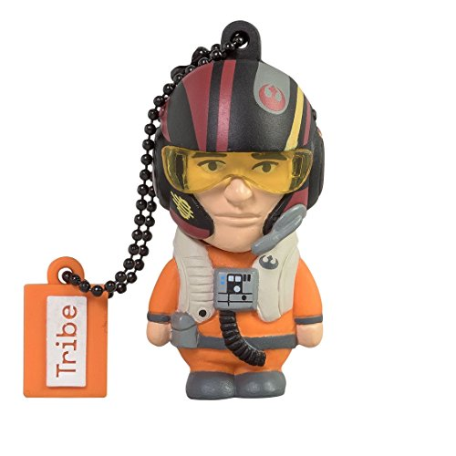 Clé USB 16 Go Poe - Mémoire Flash Drive 2.0 Originale Star Wars, Tribe FD030505