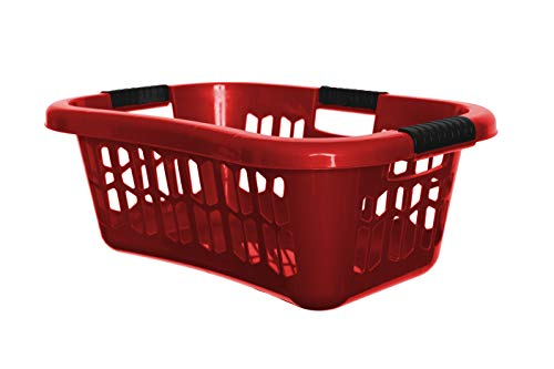 Rosso plastica Easy grip hipster portabiancheria Made in the UK (H192HR)