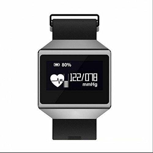 Fitness Tracker,Braccialetto per Fitness, Braccialetto Smart Bluetooth Wireless con Monitor di frequenza cardiaca /Step tracker /Monitor del sonno /Calcolatore di calorie che lo rende più raffinato e comodo per Android iOS