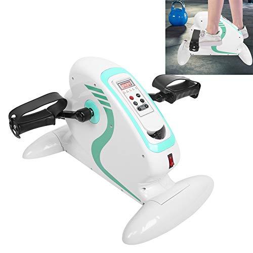 Equipo de rehabilitación eléctrica, bicicleta de entrenamiento portátil para ejercicios Máquina de recuperación para ancianos Pedal estable con monitor digital Enchufe de la UE 220V